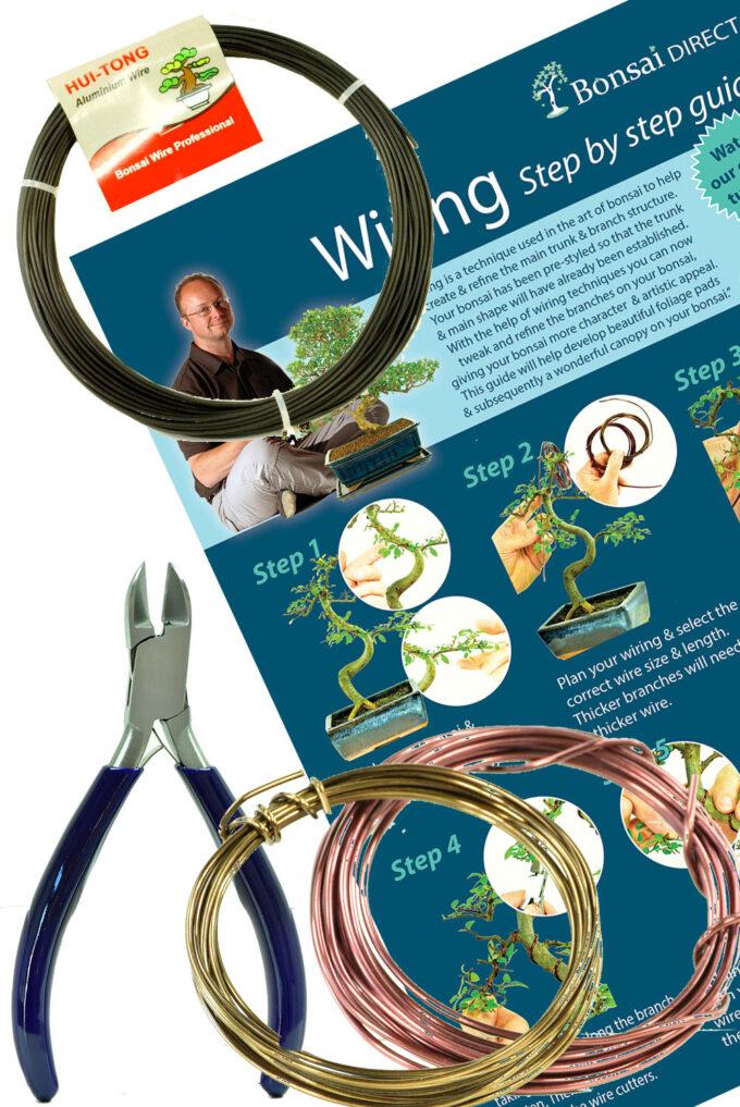 Bonsai Tree Wiring Kit