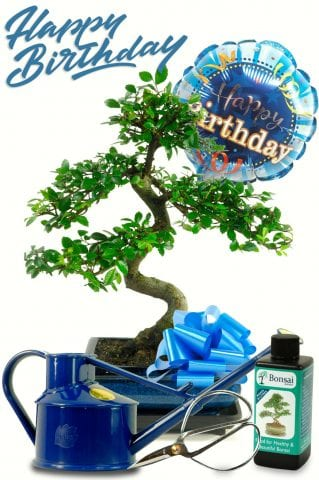Happy Birthday Gift Set - For Him with Watering Can