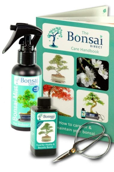 Bonsai tree care kit for indoor & outdoor trees