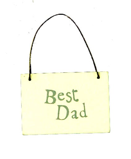 Best Dad tag