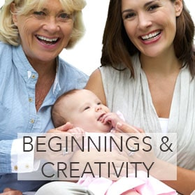 New Beginnings & Creativity